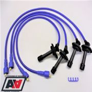 Uprated Blue Silicone HT Leads Subaru Impreza 93-97 Central Coil Pack